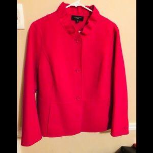 Talbots fuchsia, wool blazer size 16P